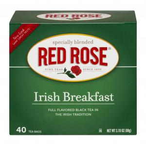 Red Rose Irish Breakfast Tea Bags