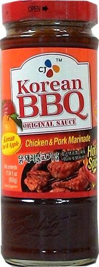 Korean BBQ Chicken and Pork Hot & Spicy Marinade