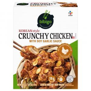 Bibigo Korean Style Crunchy Chicken with Soy Garlic Sauce