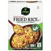 Bibigo Korean Style Fried Rice Vegetables with Kimchi