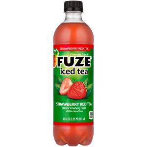 Fuze Iced Tea Strawberry Red