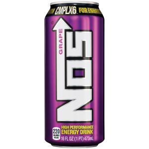 Nos Grape Energy Drink