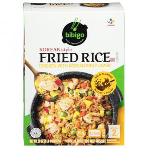 Bibigo Korean Style Fried Rice Korean BBQ Chicken
