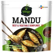 Bibigo Mandu Beef & Vegetable Dumplings