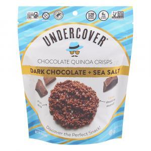 Undercover Quinoa Dark Chocolate + Sea Salt Crispy