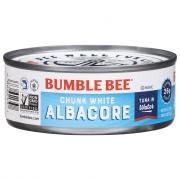 Bumble Bee Chunk White Tuna in Water
