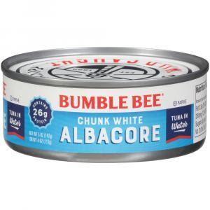 Bumble Bee Chunk White Tuna in Water