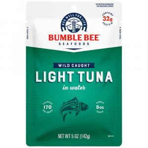 Bumble Bee Light Tuna In Water Pouch