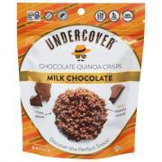 Undercover Quinoa Milk Chocolate Crispy Quinoa Snack