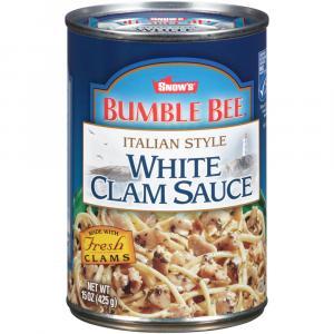 Bumble Bee Italian Style White Clam Sauce