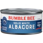Bumble Bee Solid White Tuna in Water 12 Ounce