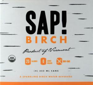 SAP! Organic Birch Sparkling Water