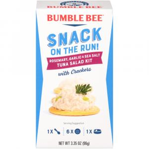 Bumble Bee Snack On The Run Tuna With Rosemary And Garlic