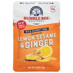 Bumble Bee Lemon Sesame Ginger Tuna Pouch