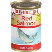 Bumble Bee Alaskan Sockeye Red Salmon