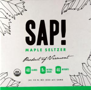 Sap! Organic Maple Seltzer