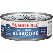 Bumble Bee Solid White Tuna in Water
