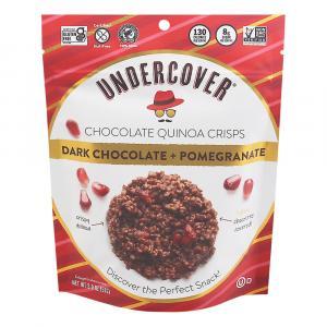 Undercover Quinoa Dark Chocolate + Pomegranate Crispy Quinoa