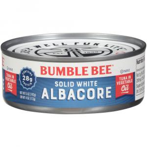 Bumble Bee Solid White Tuna in Oil