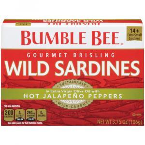 Bumble Bee Gourmet Brisling Wild Sardines