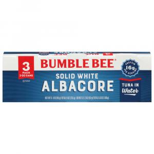 Bumble Bee Solid White Tuna in Water 3 Pack