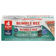 Bumble Bee Chunk Light Tuna in Water 4 Pack