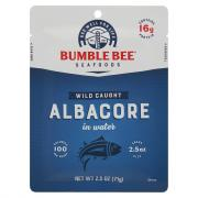 Bumble Bee Albacore in Water Pouch