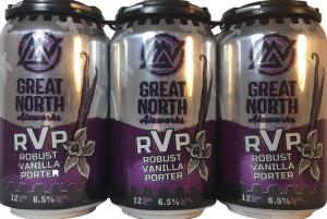 Great North Aleworks RVP Robust Vanilla Porter
