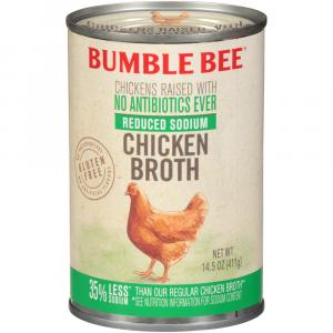 Bumble Bee Reduced Sodium Chicken Broth