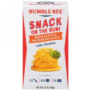 Bumble Bee Snack On The Run Buffalo Chicken Salad Kit