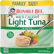 Bumble Bee Light Tuna in Water Family Pouch