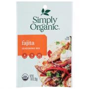 Simply Organic Fajita Seasoning Mix