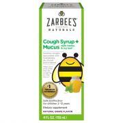 Zarbee's Naturals Children's Cough Syrup + Mucus Dark Honey