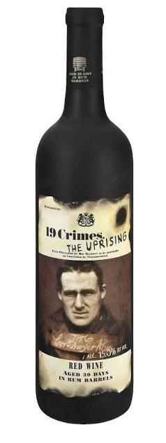 19 Crimes The Uprising Red Wine