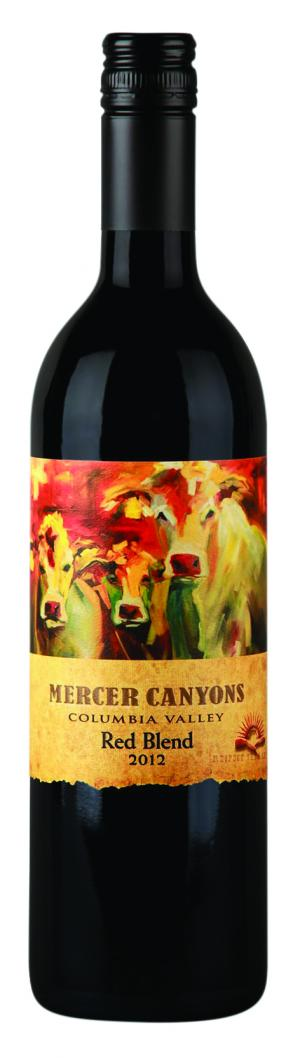 Mercer Canyons Red Blend