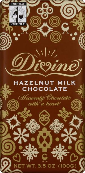 Divine Milk Chocolate With Hazelnut Bar