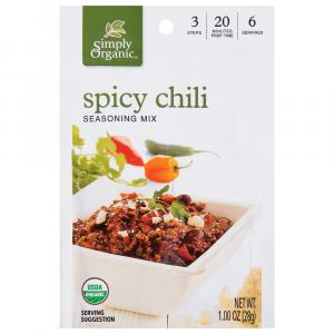 Simply Organic Spicy Chili Mix