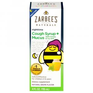 Zarbee's Naturals Children's Nighttime Cough Syrup & Mucus