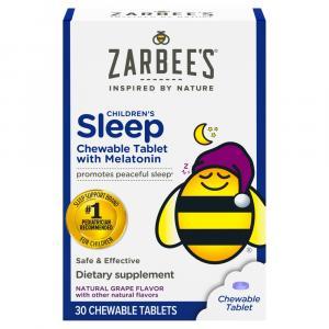 Zarbee's Naturals Children's Sleep Chewable Tablets