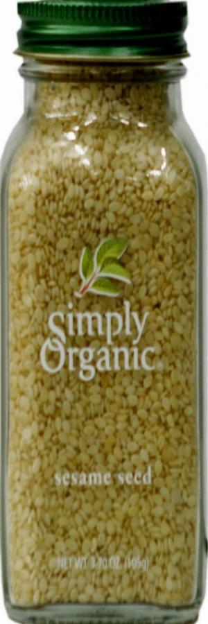 Simply Organic Whole Sesame Seeds