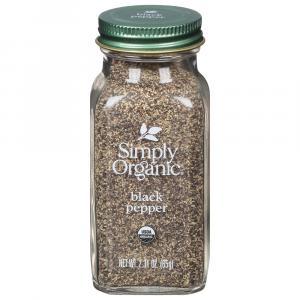 Simiply Organic Ground Black Pepper