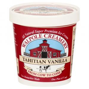 Walpole Creamery Tahitian Vanilla Ice Cream