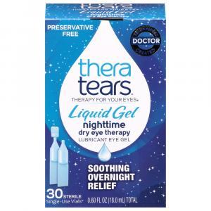 Thera Tears Liquid Gel Nighttime Sterile Single-Use Vials