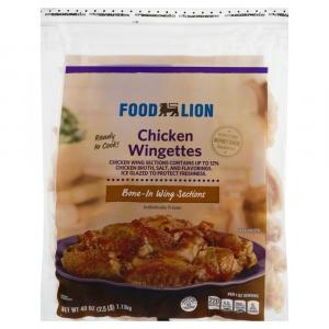Food Lion Chicken Wings
