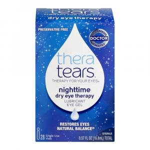 Thera Tears Liquid Gel Lubricant Eye Single Use Containers