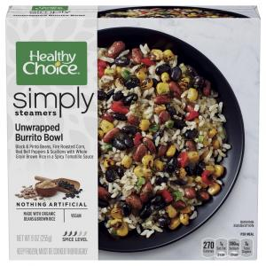 Healthy Choice Unwrapped Burrito Bowl