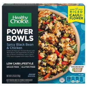 Healthy Choice Power Bowls Spicy Black Bean & Chicken
