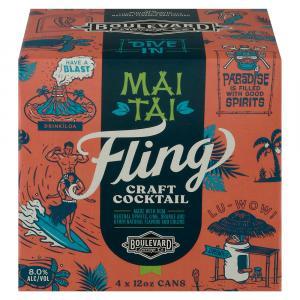 Boulevard Fling Mai Tai Craft Cocktail
