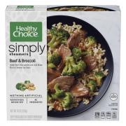 Healthy Choice Simply Steamers Beef & Broccoli