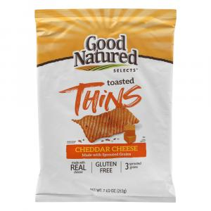 Good Natured Cheddar Cheese Baked Multigrain Chips